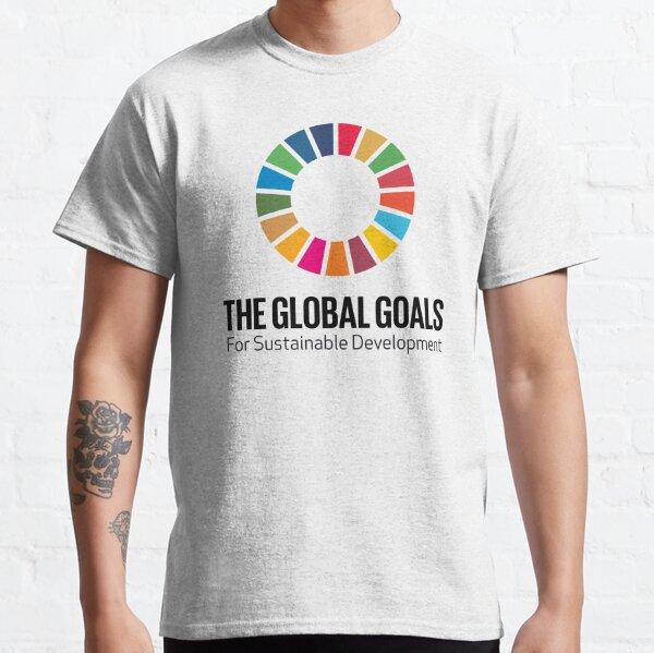 Logo des Nations Unies sur les ODD | Les objectifs mondiaux du développement durable T-shirt classique