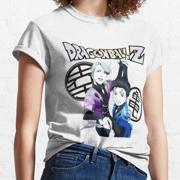 Yuri on Ice x Dragon Ball Z Camiseta clásica