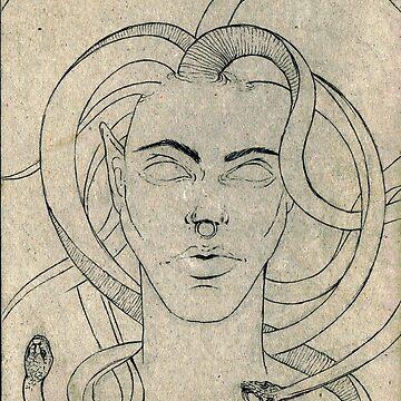 Medusa by wyrdwords