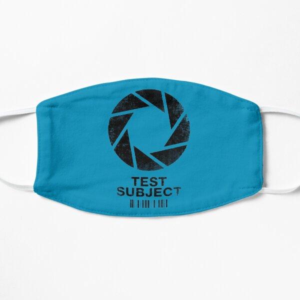Portal - Test Subject Flat Mask