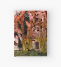 Colorful Abstract Cathedral Art Drawstring Bag Hardcover Journal