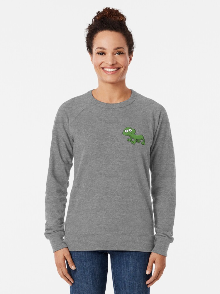 Alternate view of Sausage Frog Lightweight Sweatshirt