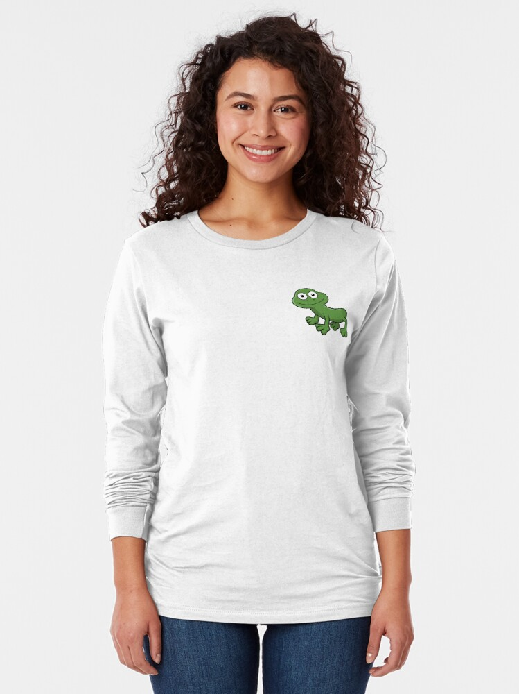 Alternate view of Sausage Frog Long Sleeve T-Shirt