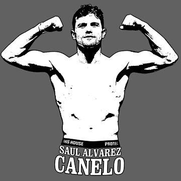 Saul Canelo Alvarez by createes