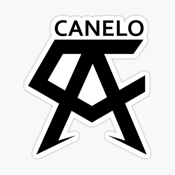 Saul Canelo boxing Sticker