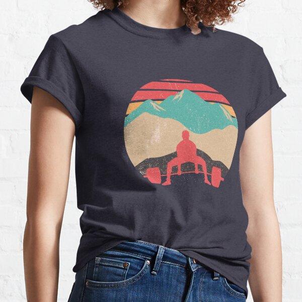 Sunset Deadlifts Powerlifting Classic T-Shirt