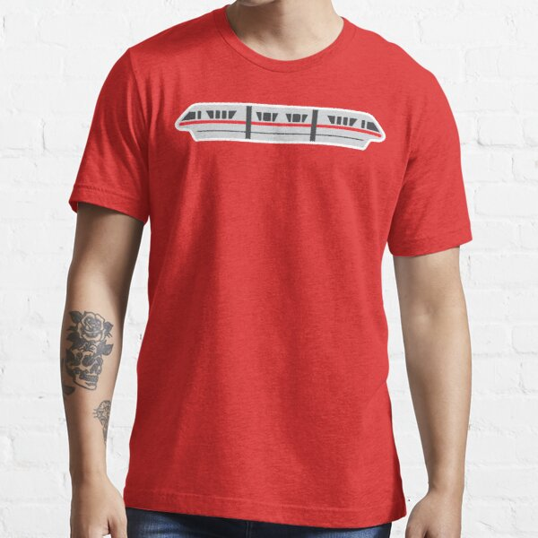 MONORAIL - RED Essential T-Shirt