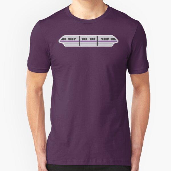 MONORAIL - VIOLET Slim Fit T-Shirt