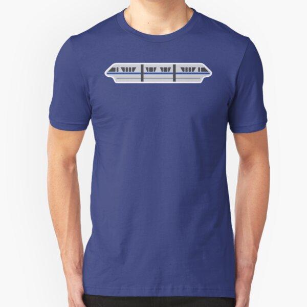 MONORAIL - BLUE Slim Fit T-Shirt