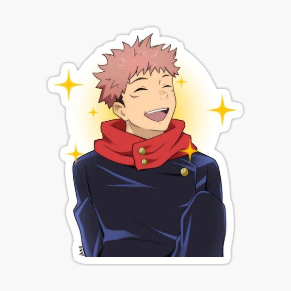 sourire yuji | jujutsu kaisen Sticker