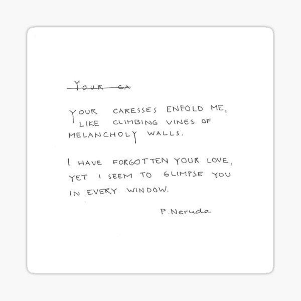 your love Sticker