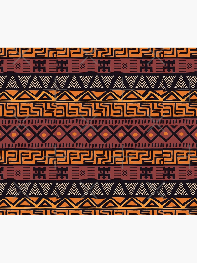African Tribal Pattern by SoccaTamam