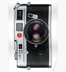 Leica M6 Poster