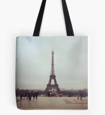 Beyond The Eiffel Tower Tote Bag