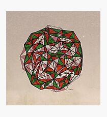 - red orange green - Photographic Print