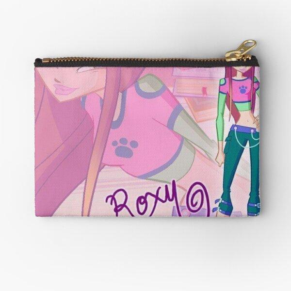 Winx Club Roxy Purple Fairy Zipper Pouch