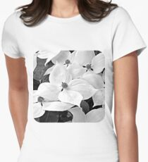 Dogwood Blossoms Women's Fitted T-Shirt