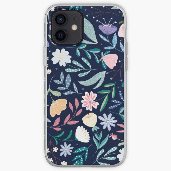 Flores Silvestres del Balcón Funda blanda para iPhone