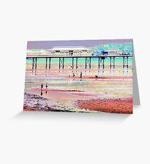 Paignton Pier Greeting Card