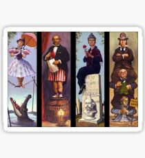 Haunted mansion all Characthers Sticker