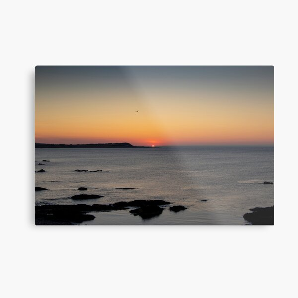 Sunset Over Whitehills Metal Print