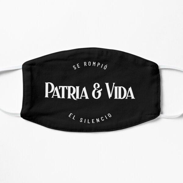 PATRIA Y VIDA - CUBA, NO SILENCIO Mascarilla plana