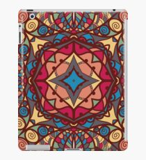 Abstract pattern, hand drawn texture iPad Case/Skin