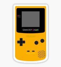 Game Boy Yellow Sticker