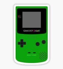 Game Boy Green Sticker