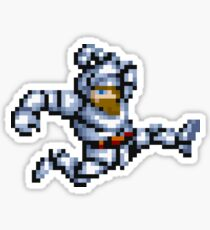Armed Pixel Hero Sticker