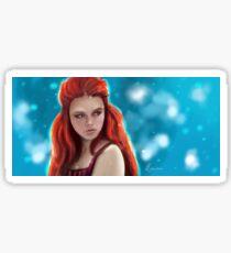 The Snow Princess Sticker
