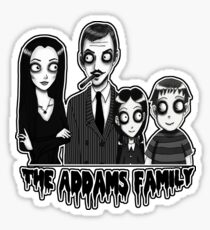 The Addams Family Portrait Sticker