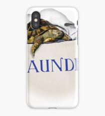 Tortoise Laundry Bag iPhone Case