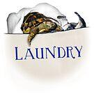 Tortoise Laundry Bag by LuckyTortoise