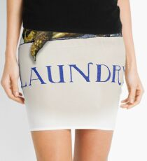 Tortoise Laundry Bag Mini Skirt