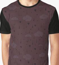 Rainy Love Graphic T-Shirt