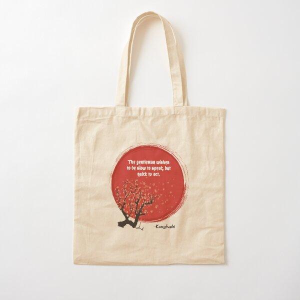 Konfuzhi Cotton Tote Bag