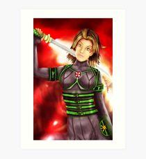 Neon Alice, Resident Evil Art Print