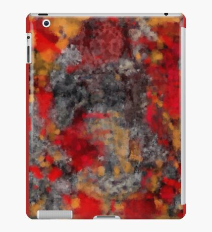 Red Filthy iPad Case/Skin