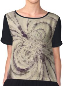 Particle Storm Women's Chiffon Top