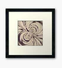 Particle Storm Framed Print