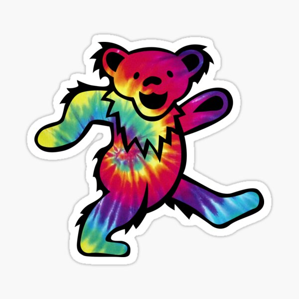 Tie Dye Bears 3 Sticker