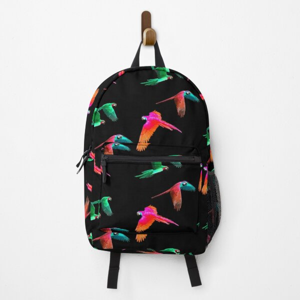 Surreal Macaw Parrots Backpack