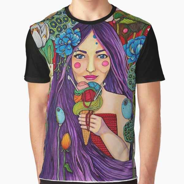 Yarn in every flavor Graphic T-Shirt
