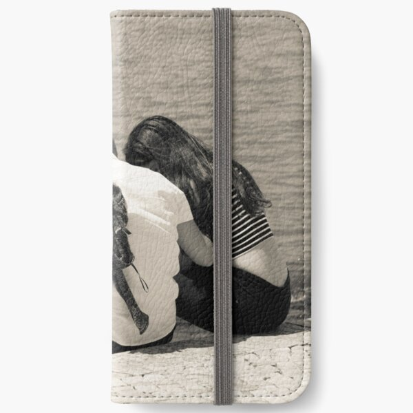 A Moment of Intimacy iPhone Wallet
