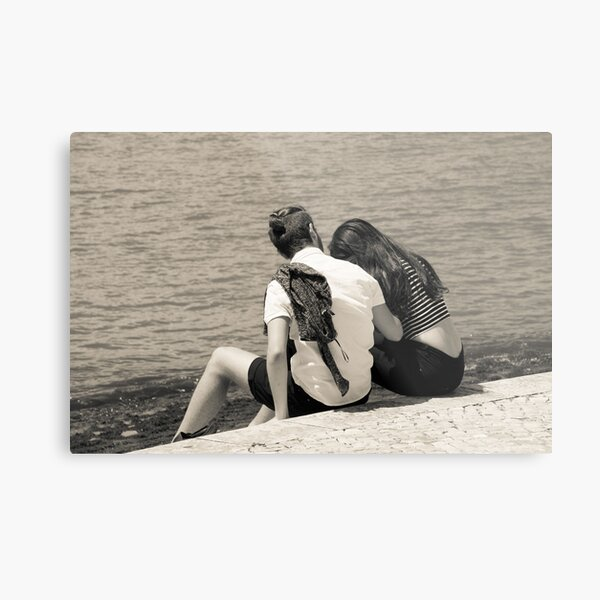 A Moment of Intimacy Metal Print