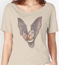 Grey long-eared bat Women's Relaxed Fit T-Shirt
