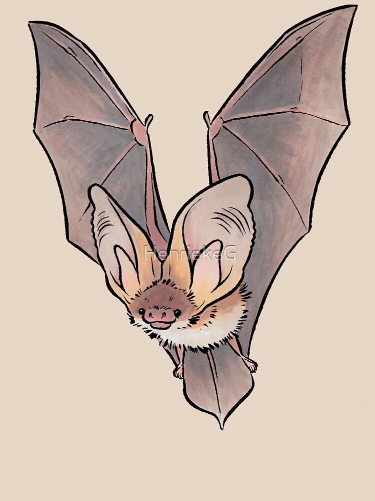 Grey long-eared bat | Unisex T-Shirt