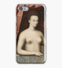 Vintage famous art - Anonymous - Gabrielle D Estrées And One Of Her Sisters iPhone Case/Skin
