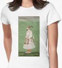 Vintage famous art - Anonymous - Portrait Of A Mughal Prince Possibly A Copy Of A Portrait Of Sultan Shuja (1616-1659) T-Shirt